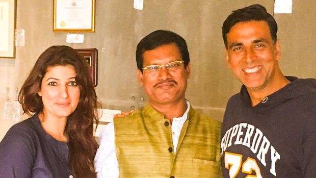 Akshay Kumar and Twinkle Khanna meet the real PadMan Arunachalam Muruganantham-1