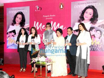 Amitabh Bachchan graces the launch of Divya Dutta's book Me & Ma