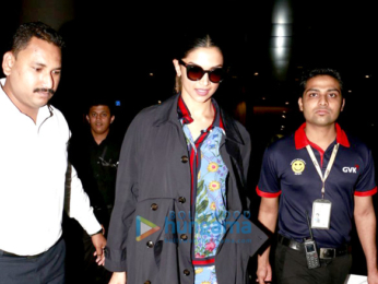 Deepika Padukone and Hrithik Roshan snapped at the airport