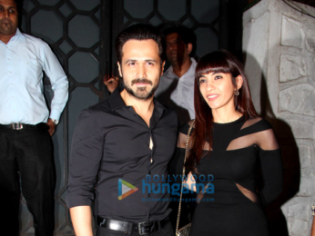 Emraan Hashmi snapped at The Korner House