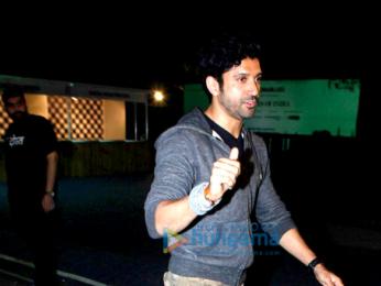Farhan Akhtar snapped at Mahindra Blues festival