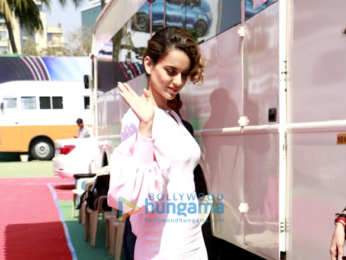 Kangana Ranaut promotes Rangoon on TV Serial sets