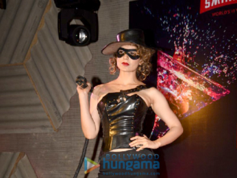 Kangna Ranaut unveils the Bloody Hell cocktail at Rangoon promotions