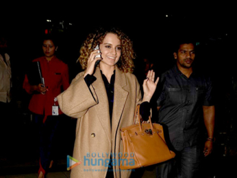 Kangna Ranaut returns from 'Rangoon' promotions in Jammu