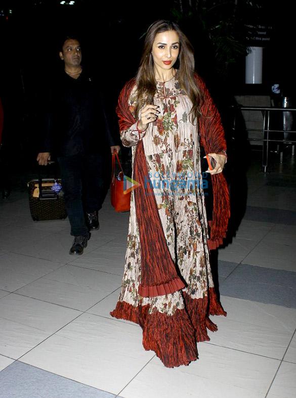 Malaika Arora Khan snapped at the airport