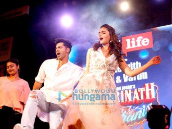 Promotion of film 'Badrinath Ki Dulhaniya' at the Kala Ghoda Arts Festival 2017
