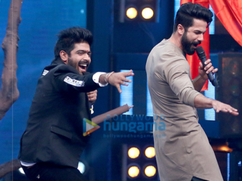 Promotions of 'Rangoon' on the sets of Indian Idol 9