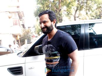 Saif Ali Khan at 'Rangoon's promotions
