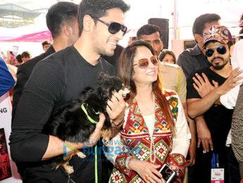 Sidharth Malhotra graces 'Glam Dogs' event in Mumbai