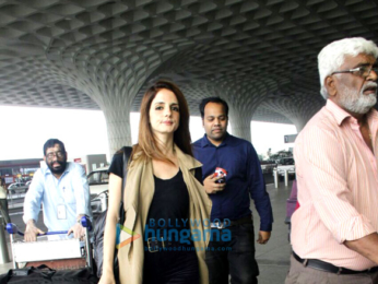 Sussanne Roshan & Tamannaah Bhatia snapped at the airport