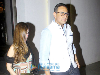 Sussanne Roshan, Zayed Khan and Farah Khan Ali snapped post party at Juhu