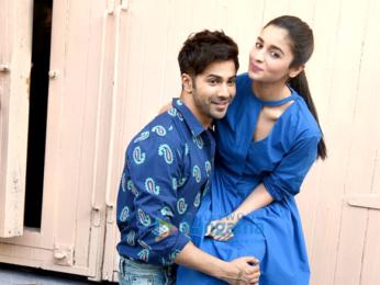 Varun Dhawan & Alia Bhatt snapped promoting their film 'Badrinath Ki Dulhania'