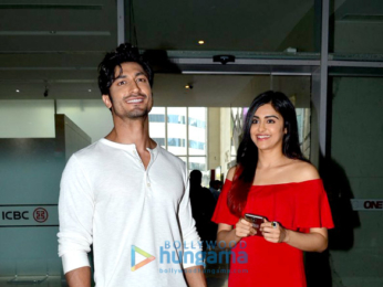 Vidyut Jammwal & Adah Sharma promote 'Commando 2' at the Facebook office
