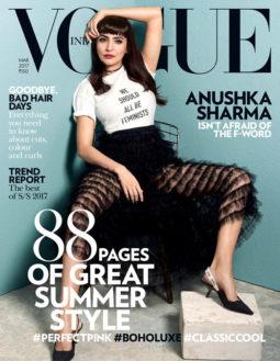 Anushka Sharma On The Cover Of Vogue