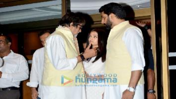Aishwarya Rai Bachchan's father's prayer meet