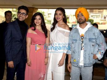 Anushka Sharma & Diljit Dosanjh grace the media meet of 'Phillauri'