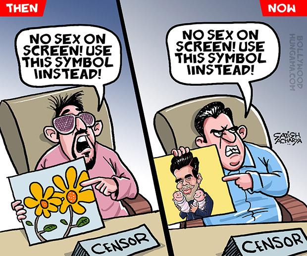 Bollywood Toons Karan Johar effect on screen!