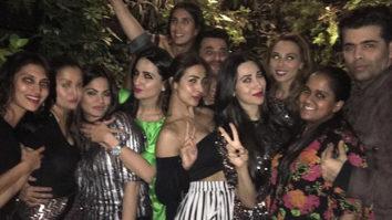Check out: Karan Johar, Karisma Kapoor, Malaika Arora party hard at Seema Khan's birthday