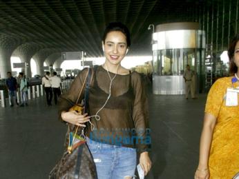 Neha Sharma snapped at the airport