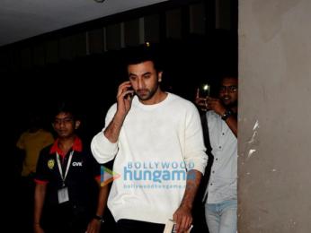 Ranbir Kapoor snapped at the airport