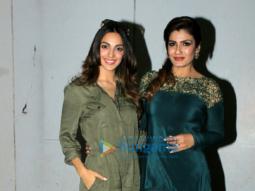 Raveena Tandon and Kiara Advani promote 'Mast Mast' song for 'Machine'