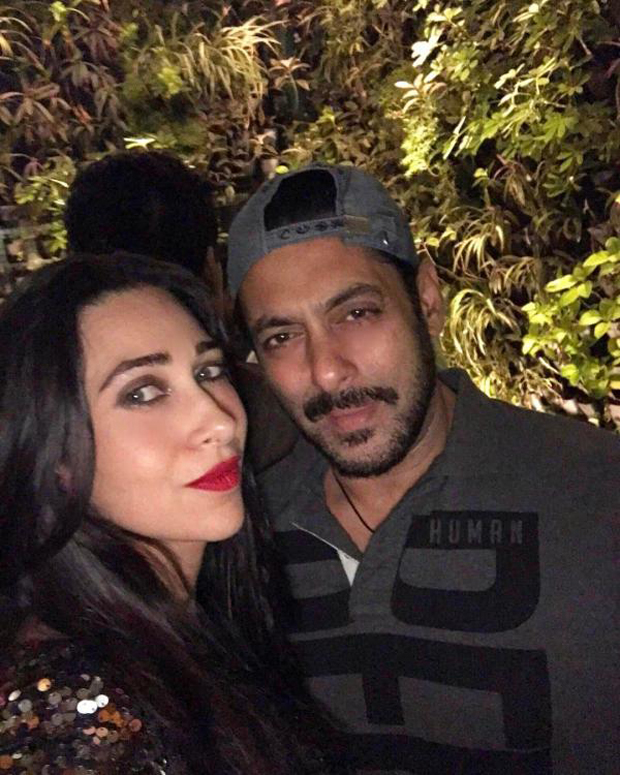 Salman Khan and Karisma Kapoor reunite and it was definitely memorable features