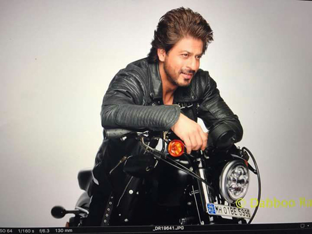 Shah Rukh Khan is the coolest biker in town