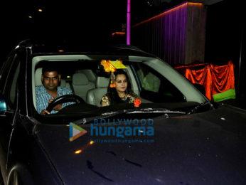 Shahid Kapoor, Mira Rajput, Tusshar Kapoor, Aftab Shivdasani and others at Gaurav-Mandana wedding party