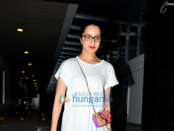 Shraddha Kapoor snapped post dinner with friends at Hakassan