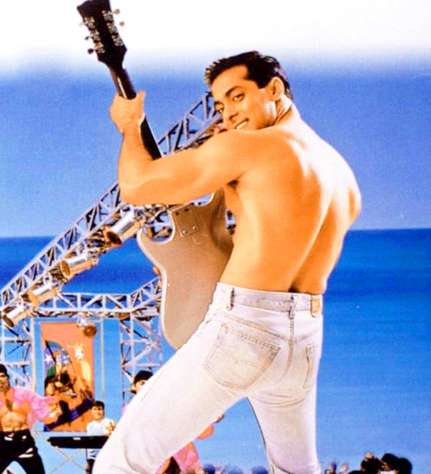 The Reason Behind Salman Khans Shirtless Look In The Song O O Jaane Jaana Features