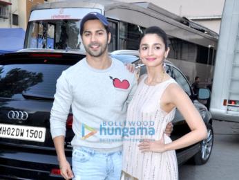Varun Dhawan & Alia Bhatt at 'Badrinath Ki Dulhania' promotions