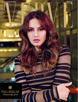 Huma Qureshi On The Cover Of Verve, March 2017