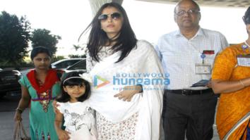 Aishwarya Rai Bachchan, Anushka Sharma, Vaani Kapoor, Diana Penty and others snapped at the airport