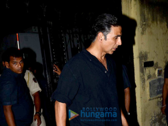Akshay Kumar snapped post his shoot for 'Padman' in Bandra