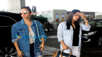 Alia Bhatt leaves for Dubai with her bestie Akansha Ranjan