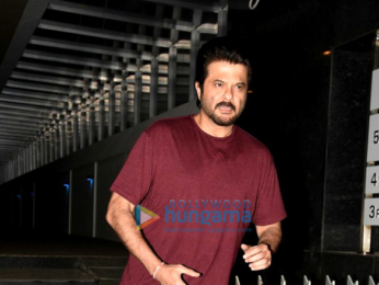 Anil Kapoor snapped post dinner at Hakkasan
