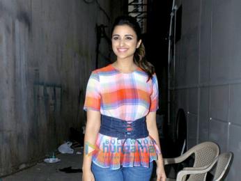 Ayushmann Khurrana and Parineeti Chopra promote the film 'Meri Pyaari Bindu'