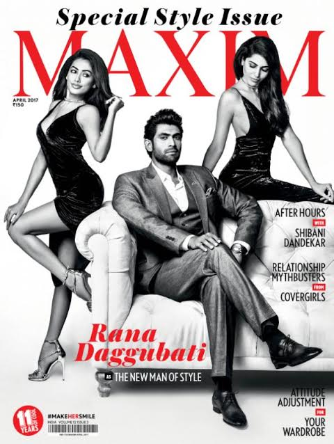 Bahubali star Rana Daggubatti's suave look is unmissable on Maxim cover