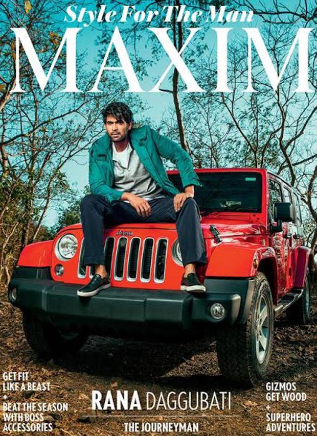 Bahubali star Rana Daggubatti's suave look is unmissable on Maxim cover1