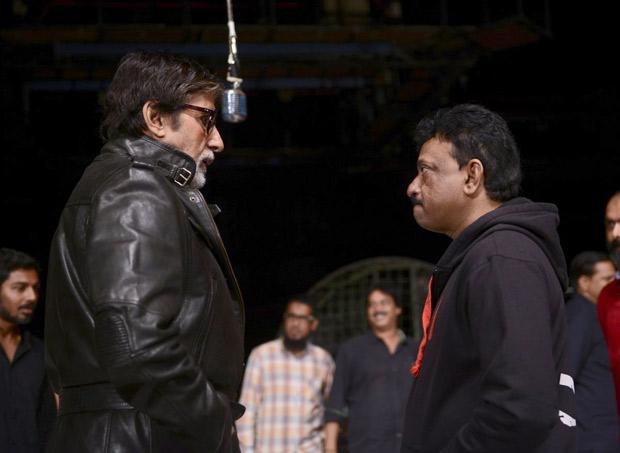 Check out Amitabh Bachchan reshoots for Ram Gopal Varma's Sarkar 31