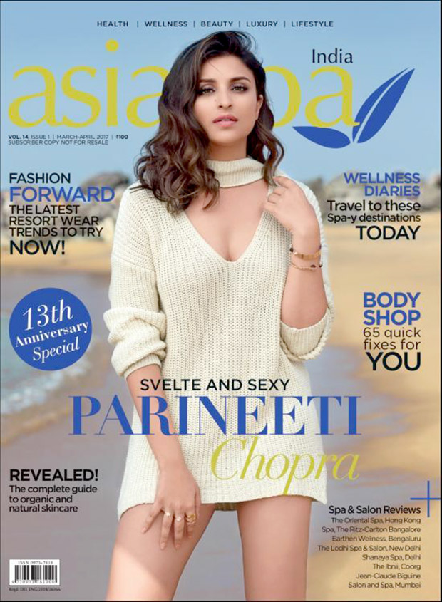 Check out Parineeti Chopra is svelte and sexy on the cover of AsiaSpa magazine