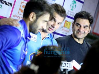 Imran Khan, Sooraj Pancholi & Upen Patel grace the grand finale of Tony Premier League