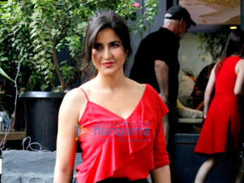Katrina Kaif snapped dining out with her family in Mumbai