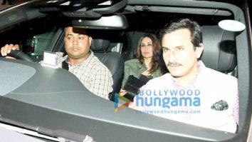Saif Ali Khan, Kareena Kapoor Khan, Sidharth Malhotra and Alia Bhatt snapped at Diwan's house party