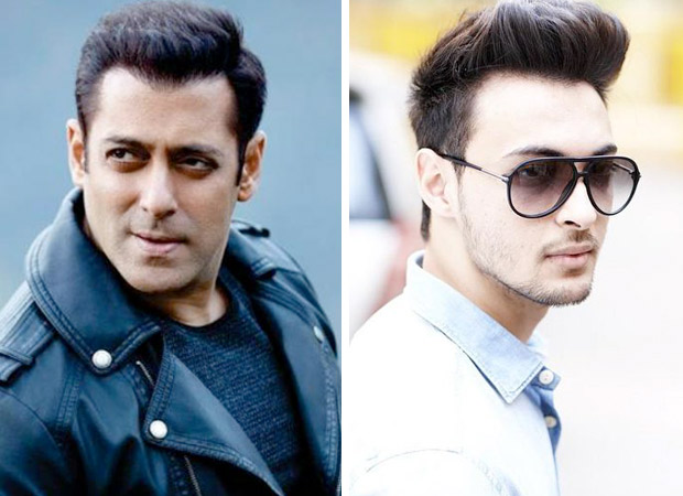 Salman Khan all set to launch brother-in-law Aayush in Bollywood