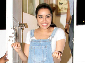 Shraddha Kapoor snapped post ad shoot in Bandra