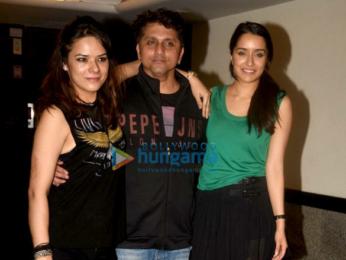 Sidharth Malhotra, Aditya Roy Kapur, Shraddha Kapoor & Arjun Kapoor at Mohit Suri's birthday bash