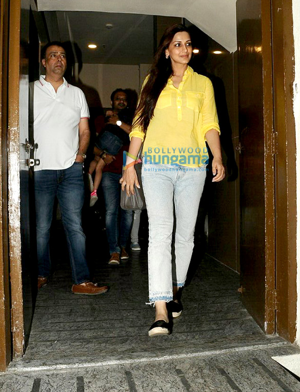 Sonali Bendre and Goldie Behl snapped at PVR