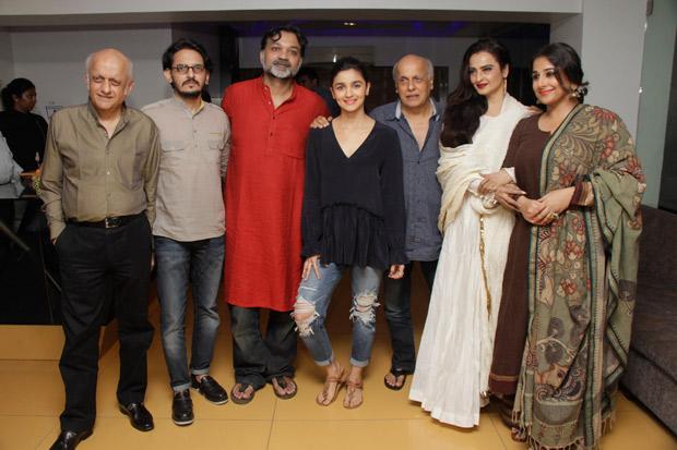 This is how Rekha, Vidya Balan and Alia Bhatt bonded over Begum Jaan
