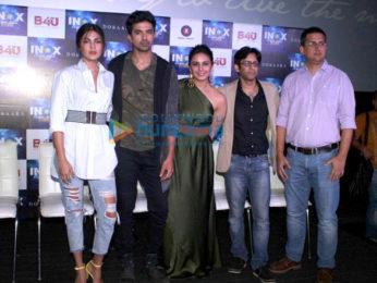 Huma Qureshi, Saqib Saleem and Rhea Chakraborty launch a song from 'Dobaara – See Your Evil'